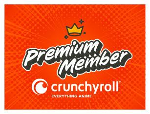 Crunchyroll Premium Member
