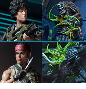 NECA ALIEN SERIES 12 FIGURES
