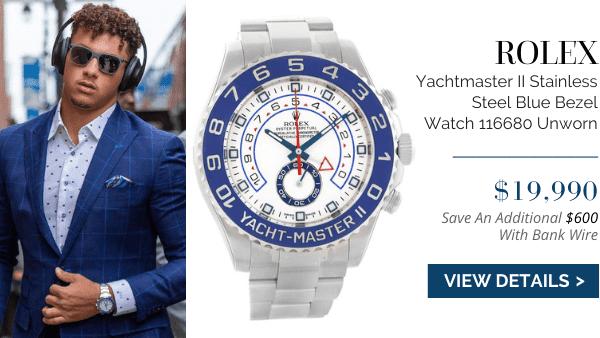 Yachtmaster II Steel Blue