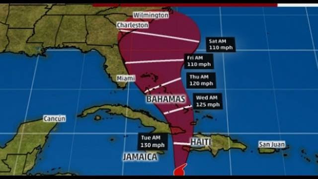 Timing Dangerous Hurricane Matthew, State of Emergency Declared In Florida and North Carolina