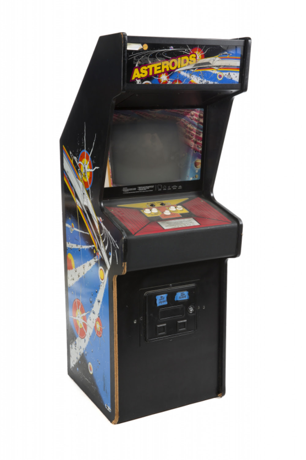 RONNIE JAMES DIO ASTEROIDS ARCADE CABINET