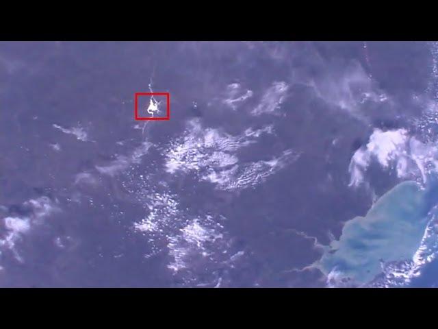 Weird light reflextions International Space Station ISS live video  Sddefault