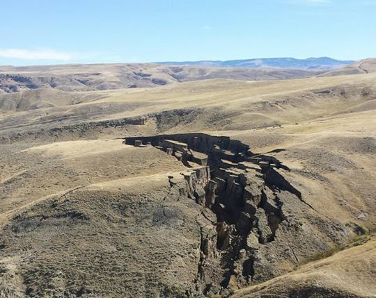 Pics Don't Lie: Earth Gash Near Yellowstone Reflects Serious Geological Changes