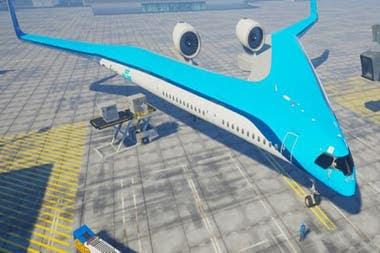 Podrá utiliza las mismas instalaciones que un A350 en el aeropuerto y llevar a la misma cantidad de pasajeros (314 en la configuración estándar)