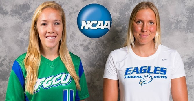 FGCU's Carpenter and Svensson Nominated for the 2015 NCAA Woman of the Year Award