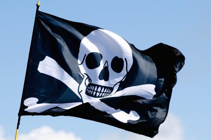 bandeira pirata 700x464 - Sistema que bloqueia celulares piratas começa a funcionar no Brasil Confiram - 22/02/2018