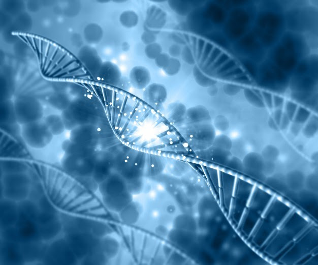 dna-on-a-blur-blue-background 1048-1498