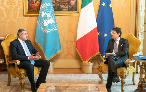 UNWTO and Italy
