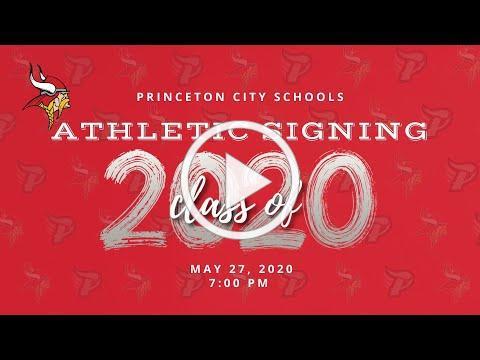 Princeton Viking Athletic Signing Spring 2020