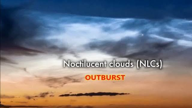 Sky Watchers in Europe are Reporting an Outburst of Bright Noctilucent Clouds