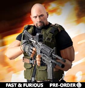 Fast and Furious Dynamic 8ction Heroes DAH-038 Luke Hobbs