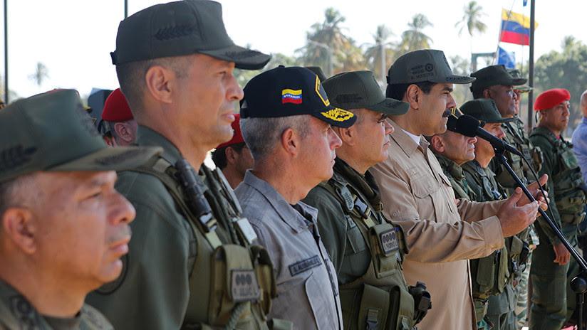 """Aviación Bolivariana de Venezuela inicia sus ejercicios militares tras denuncias de """"golpe de Estado"""""""