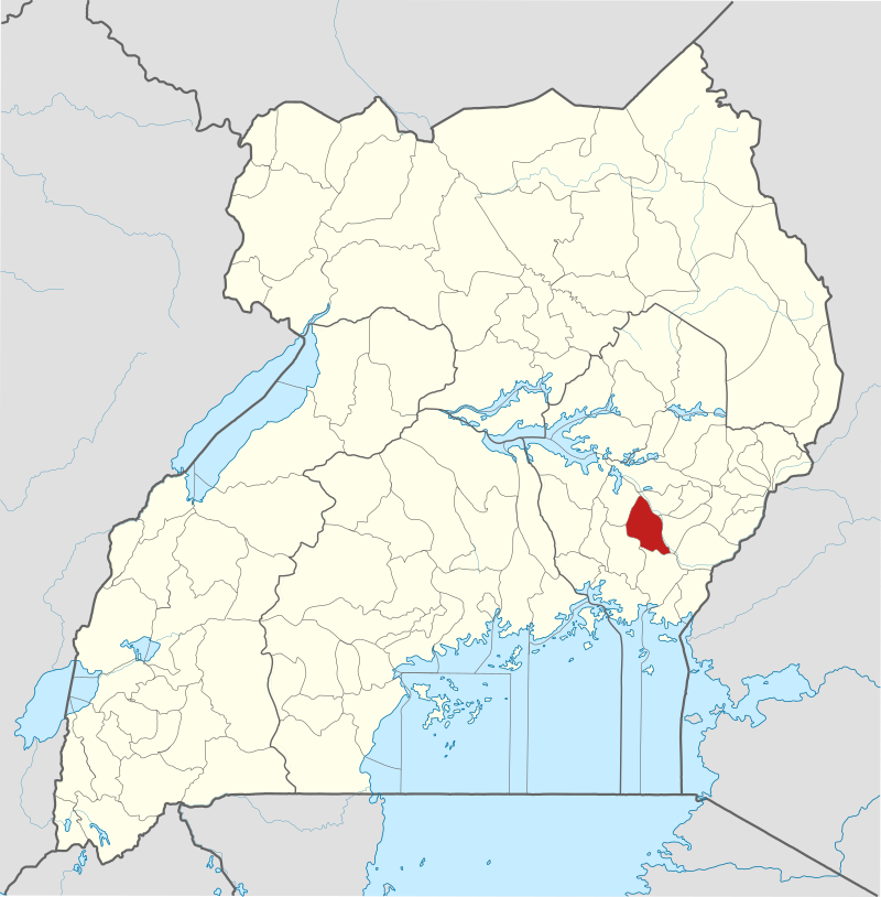 Namutumba District, Uganda. (OpenStreetMap contributors, Jarry1250, NordNordWest, Wikipedia)
