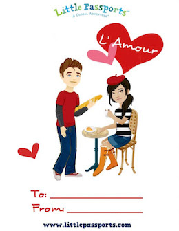 FREE Printable Valentine's Day Cards in multiple languages! #affiliate