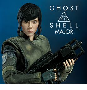 GHOST IN THE SHELL MAJOR 1/6 SCALE FIGURE
