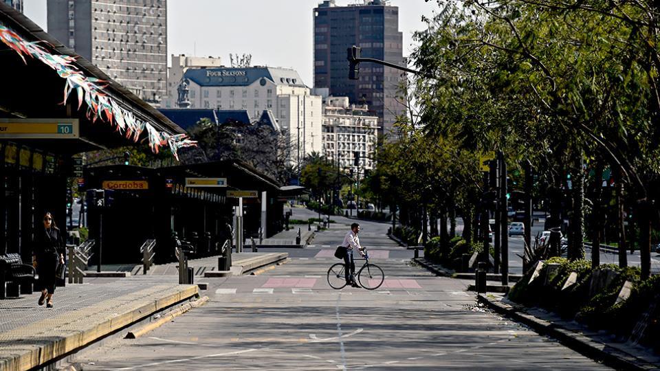 La imagen de una ciudad vacía se repetirá por quinta vez desde la llegada de Macri al gobierno.