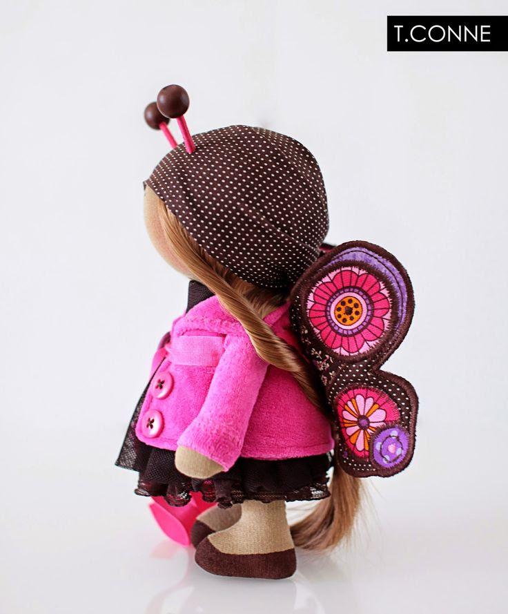 Gyönyörű dolog: Baba pillangó. Pink.