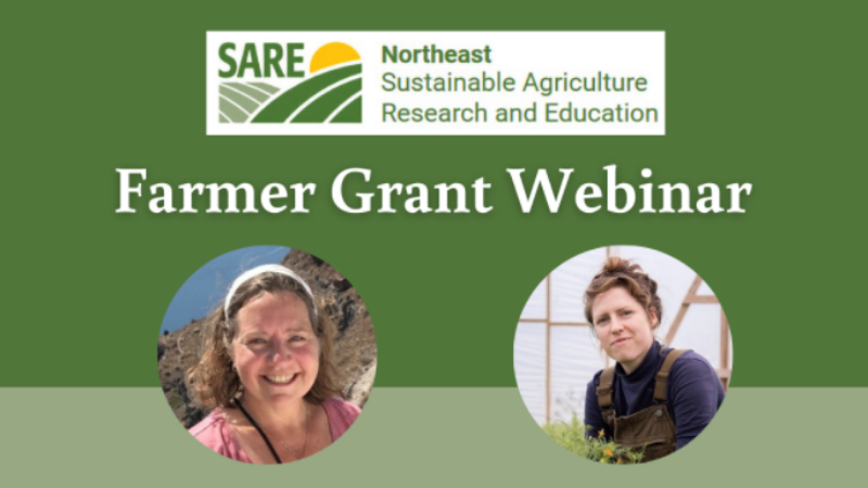 Learn About the SARE Farmer Grant