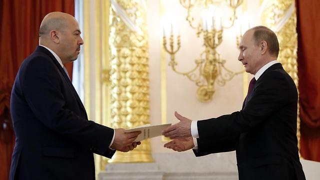 Посол Израиля в Москве Гарри Корен