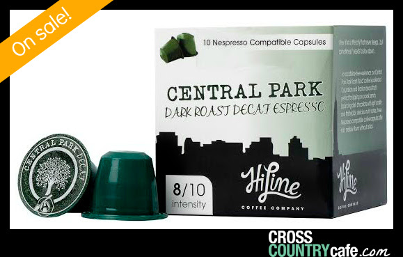 Central Park Nespresso Decaf Keurig K-cup coffee