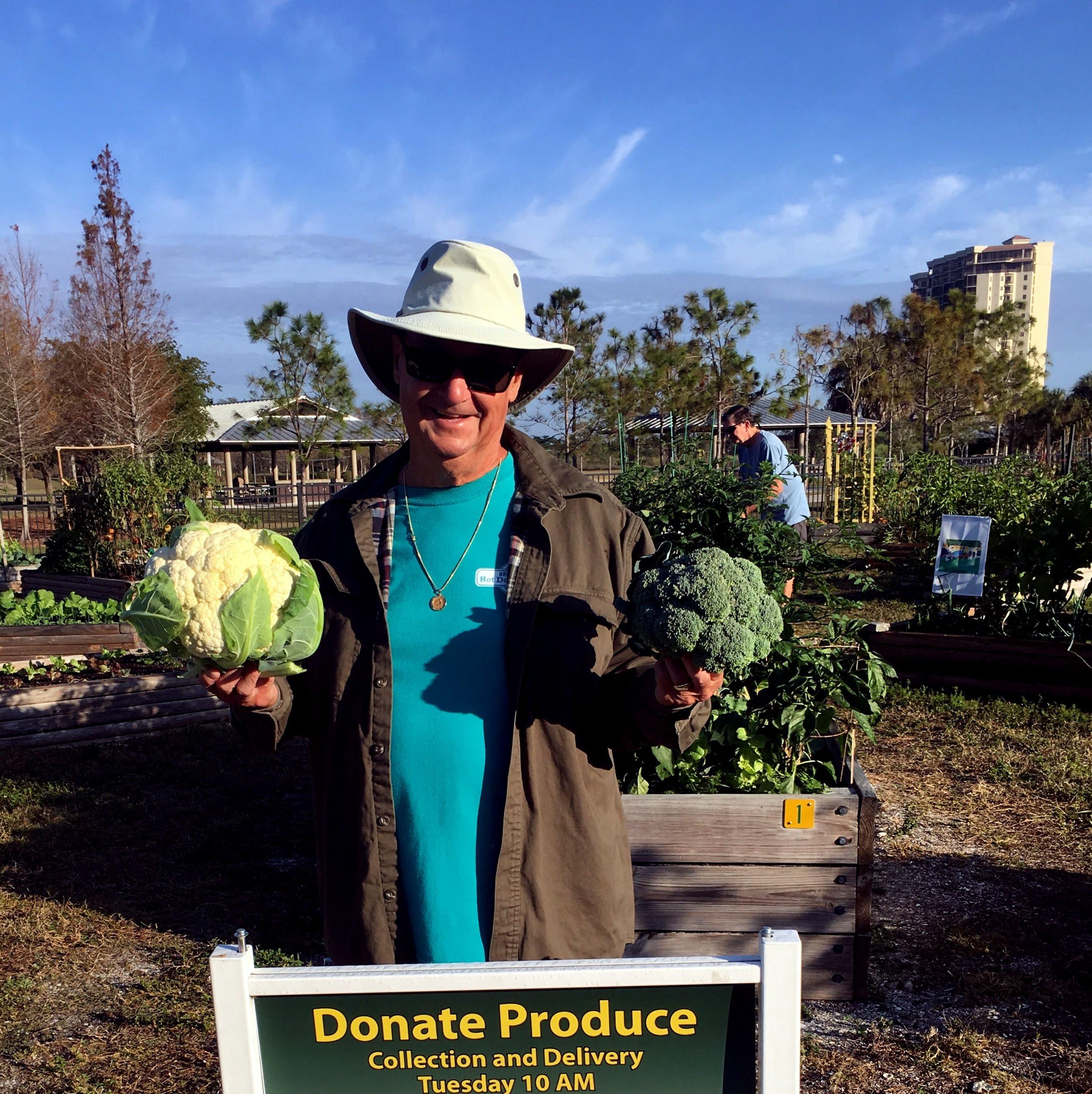 Community Garden Harvest Lakes Park Fort Myers