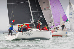 J/92 sailing Hamble Winter Series- England