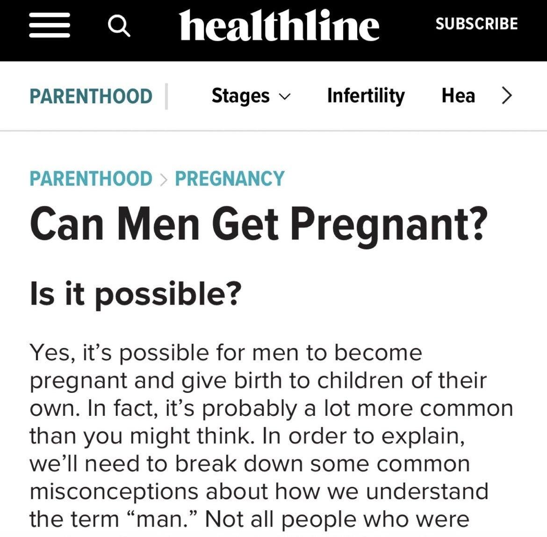 Dubious Healthline article