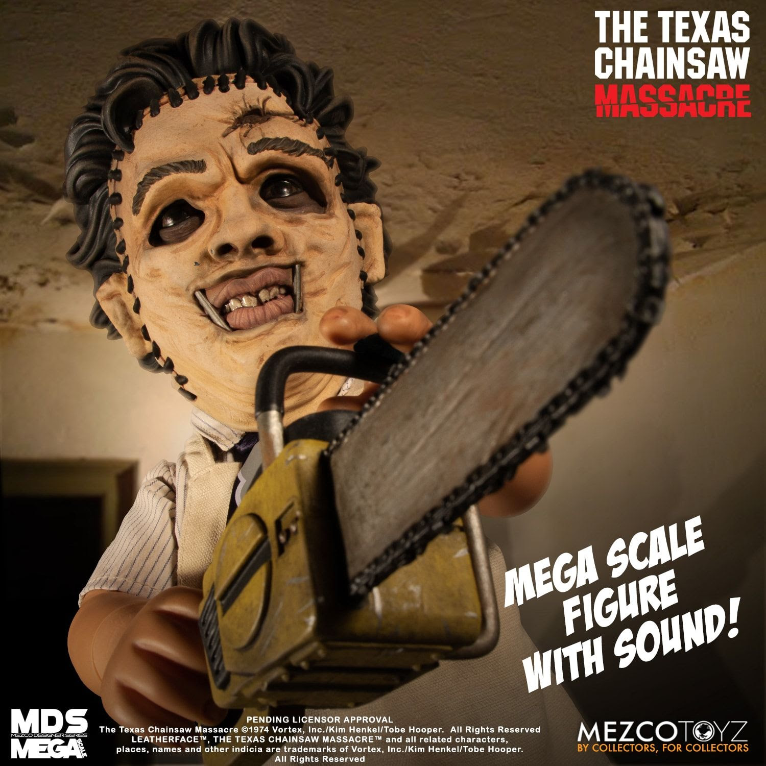 Image of The Texas Chainsaw Massacre (1974): Leatherface with Sound - SEPTEMBER 2020