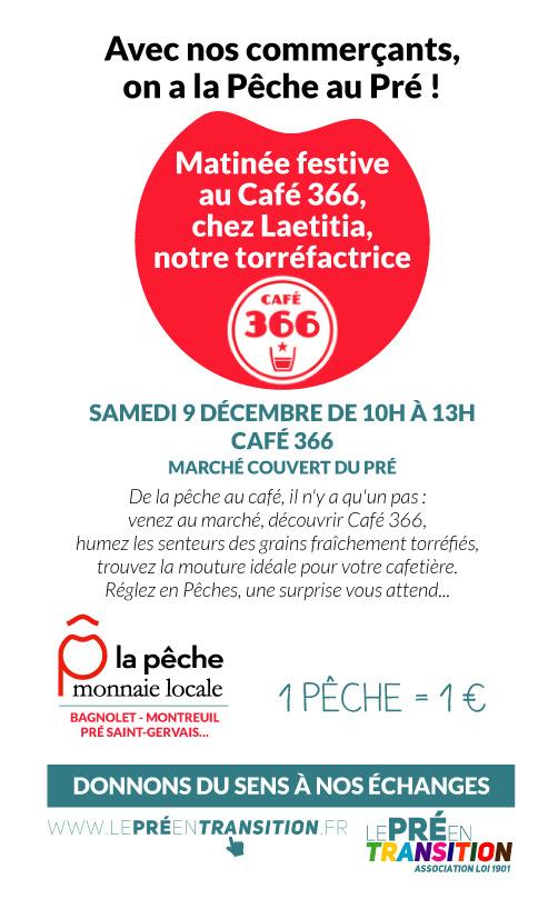 LE CAFÉ 366 A LA PÊCHE !