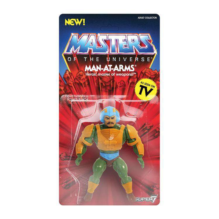 Image of Masters of the Universe Vintage Wave 2 - Man-At-Arms - SEPTEMBER 2019