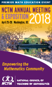 2018 NCTM Annual Meeting