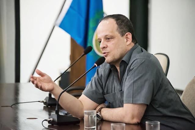 """Breno Altman: """"Os Estados Unidos precisam reagrupar o sul do continente ao seu domínio geopolítico"""" - Créditos: Vitor Toscano"""