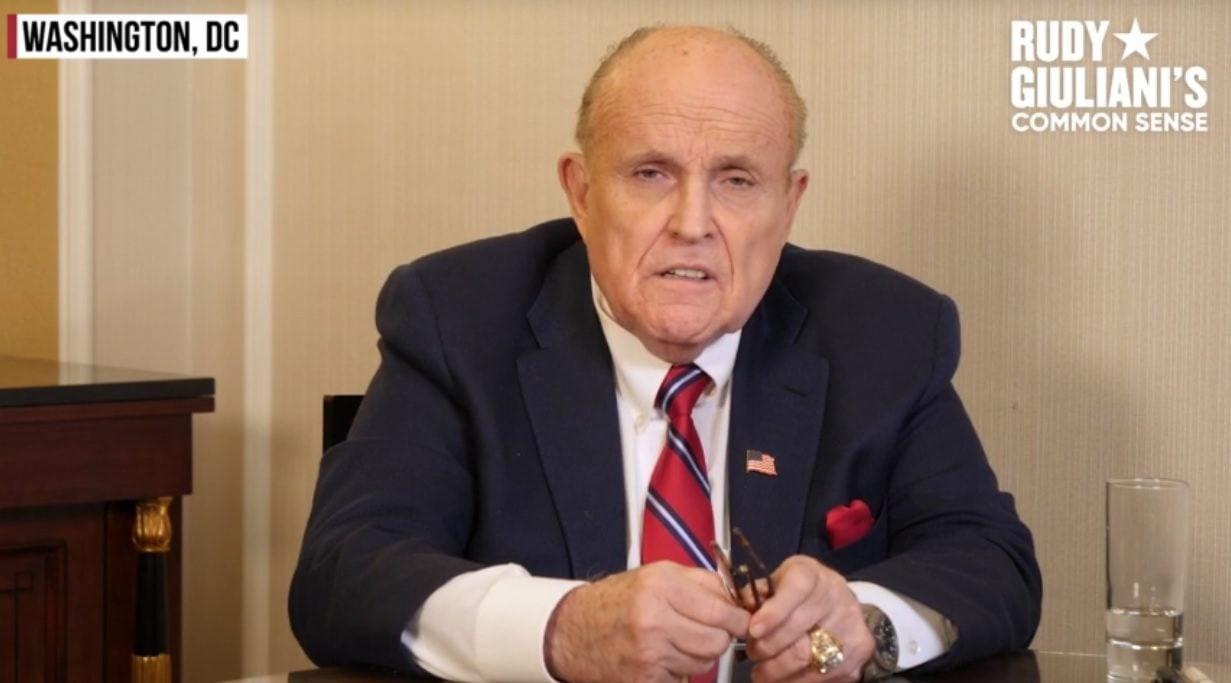 RUDY BRINGS THE FIRE: Giuliani Responds to $1.3 Billion Dominion Lawsuit AND IT'S EPIC Rudy-Giuliani-Common-Sense