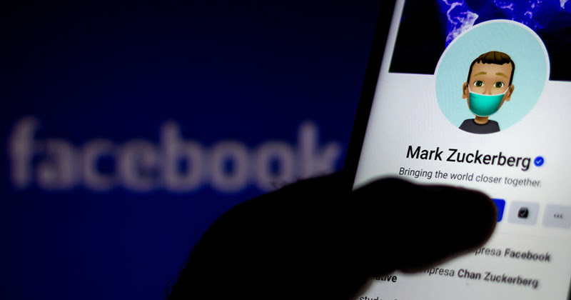 FACEBOOK SAYS USERS CAN WISH FOR TRUMP'S DEATH BY COVID SO LONG AS THEY DON'T TAG HIM GettyImages-1226302904