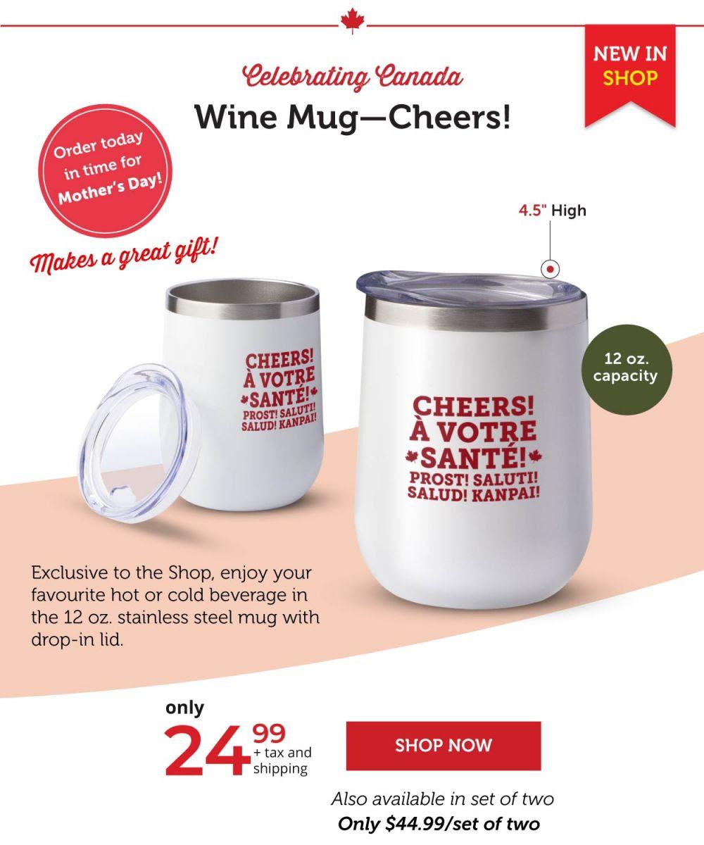 Wine Mug—Cheers!