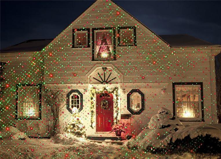 Νυχτερινός Διακοσμητικός Χριστουγεννιάτικος Φωτισμός - Christmas Star Night Laser Lights