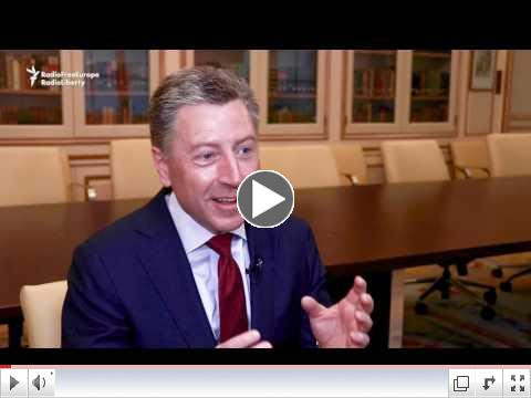 US special envoy Kurt Volker. To view video, please click on above image