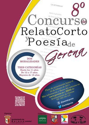 8º Concurso de Relatos Cortos y Poesía de Gerena
