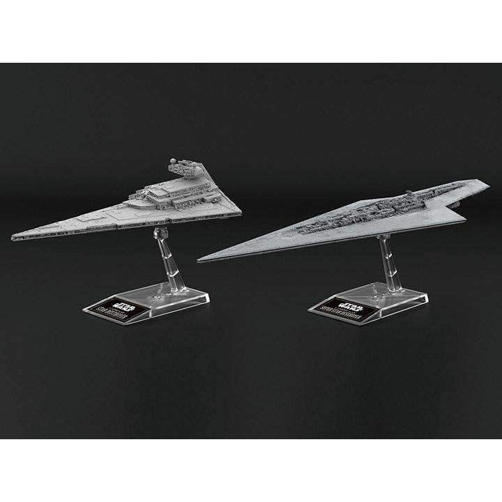 Image of Star Wars Star Destroyer & Super Star Destroyer Model Kit Two-Pack - SEPTEMBER 2019