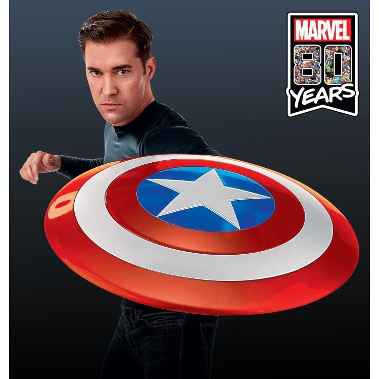 Image of Marvel Legends Gear Classic Comic Captain America Shield Prop Replica - Exclusive