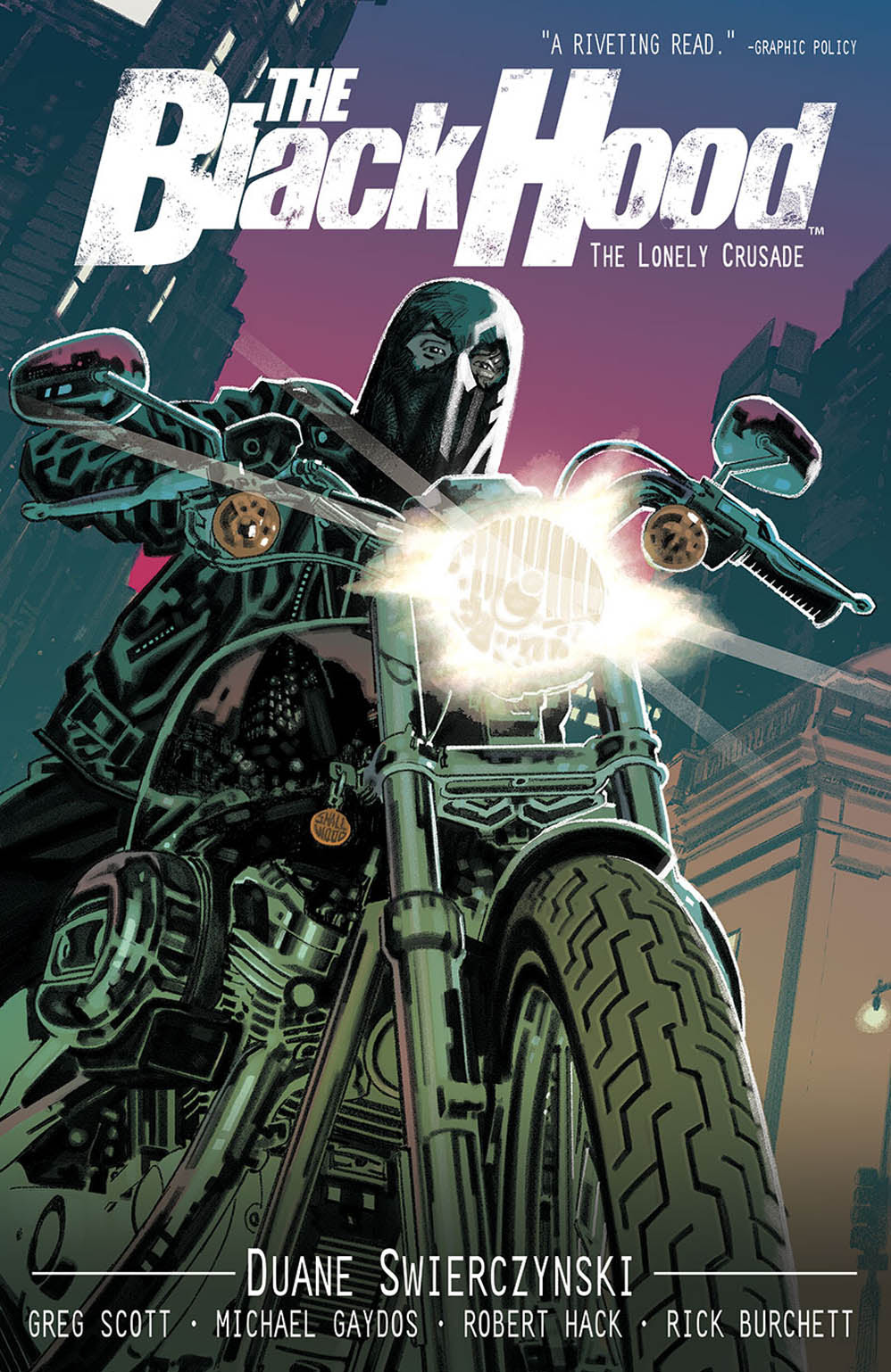 The Black Hood Vol. 2: The Lonely Crusade