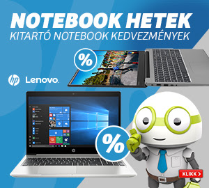 Notebook hetek