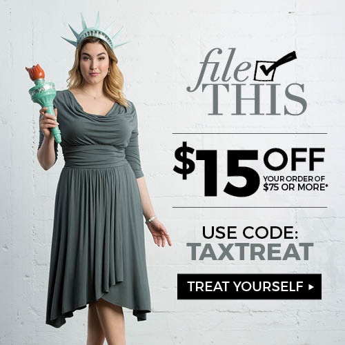 $15 off orders of $75 or more.