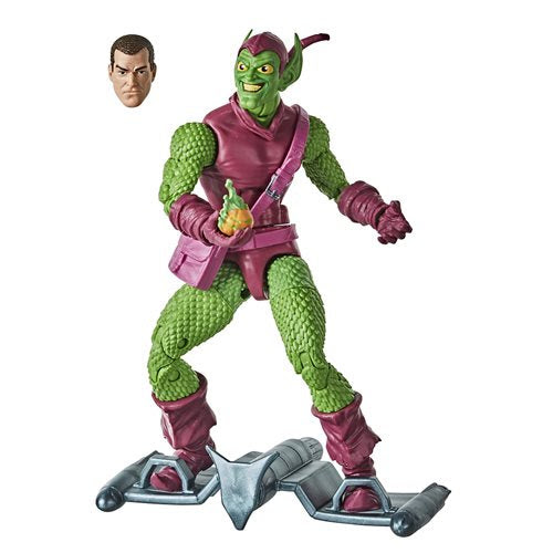 Image of Spider-Man Retro Marvel Legends Green Goblin 6-Inch Action Figure