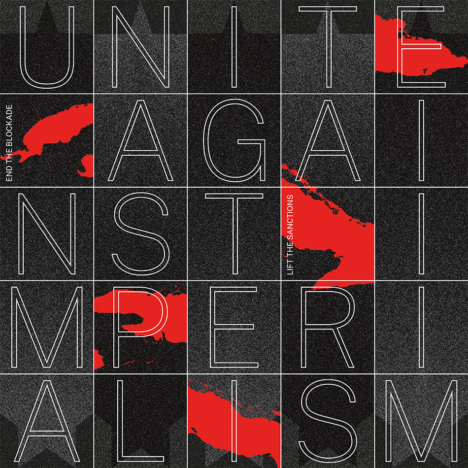 Ryan Honeyball (South Africa), Unite Against Imperialism, 2021.