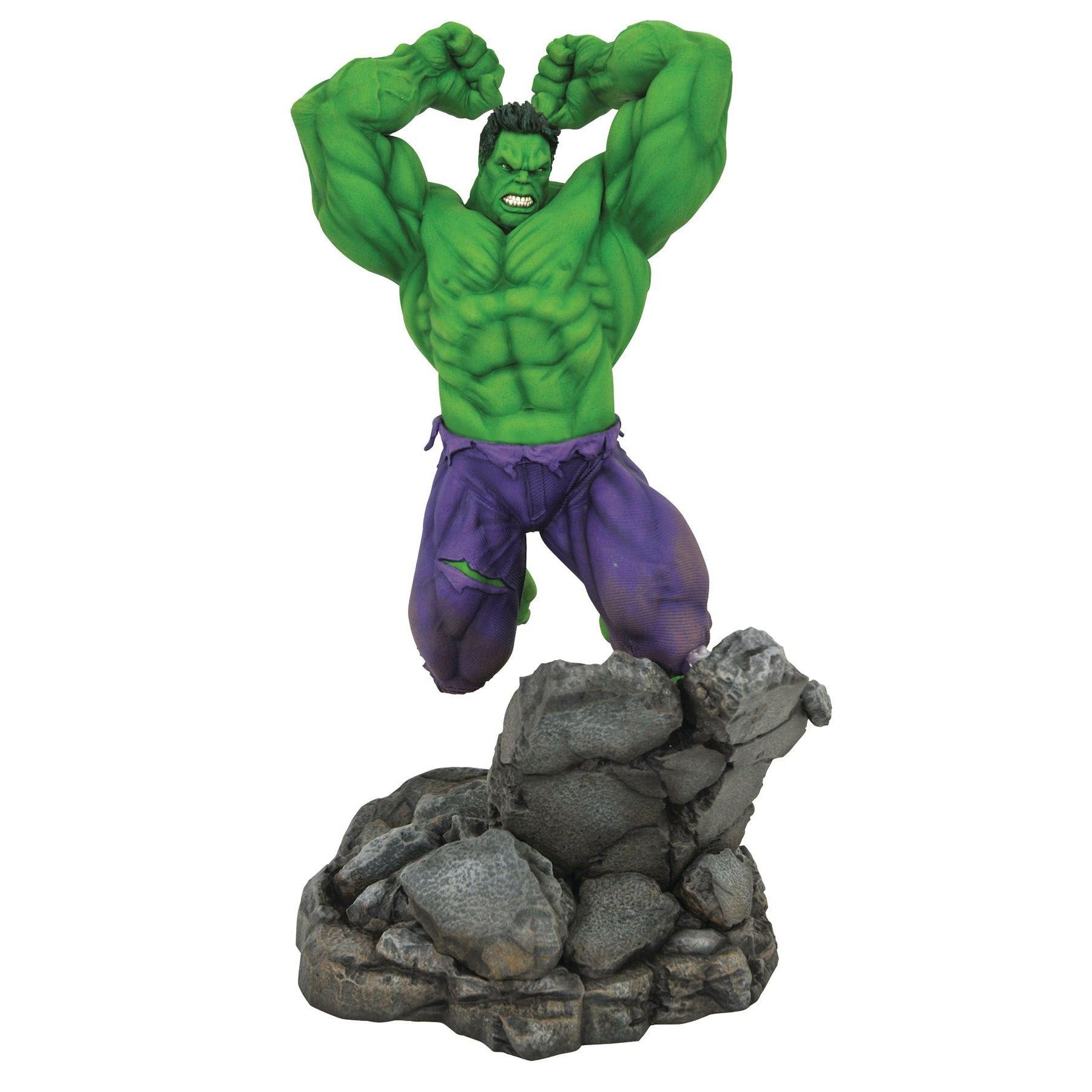 "Image of Marvel Premier Collection 18"" Comic Hulk Statue - JULY 2020"