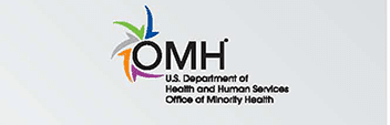 OMH - U.S. Department of Health and Human Services Office of Minority Health Logo