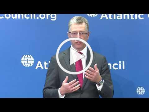 To view remarks delivered recently at the Atlantic Council by Ambassador Kurt Volker, US Representative for Ukraine Negotiations, please click on image above.