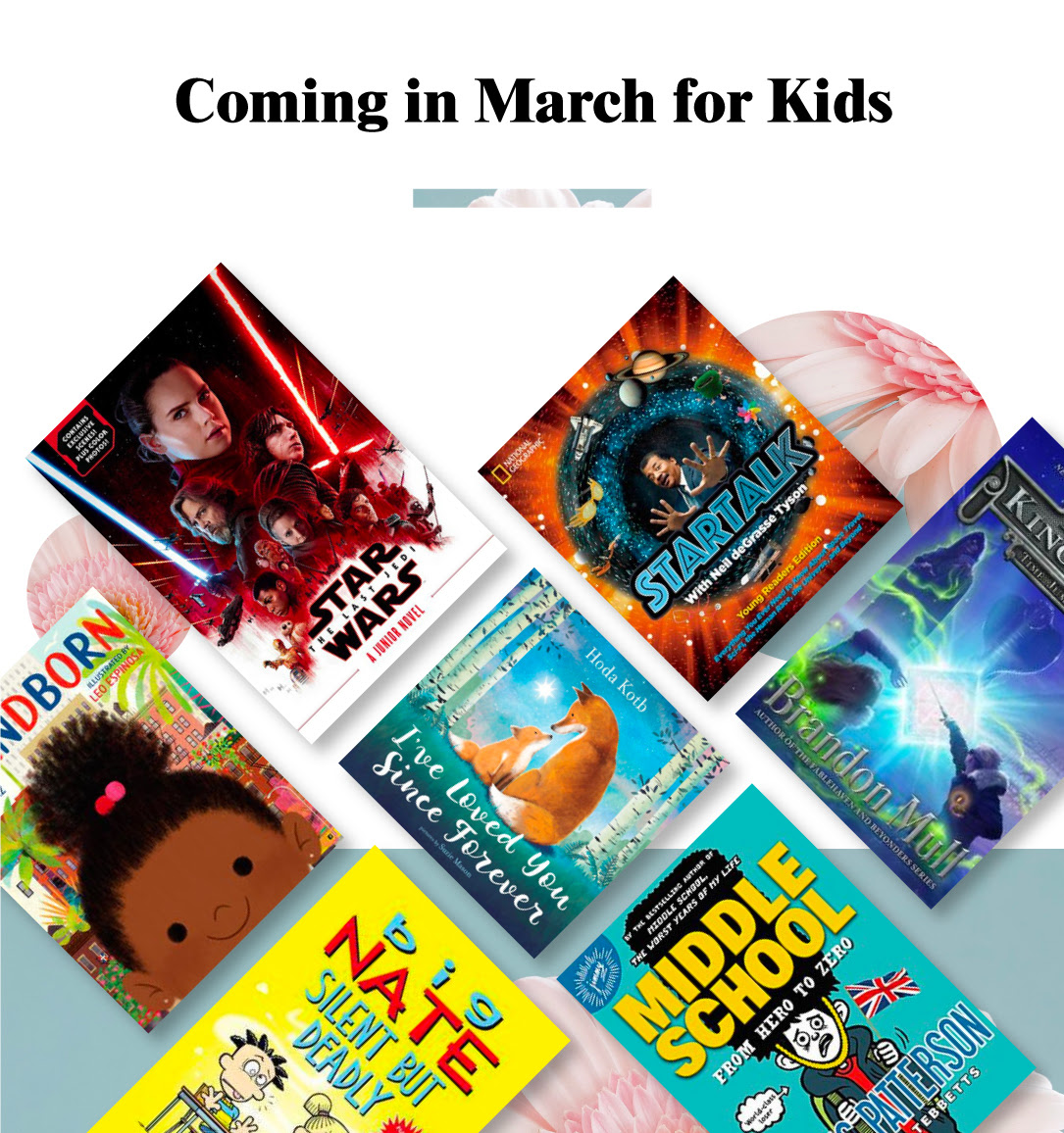 Coming in March for Kids