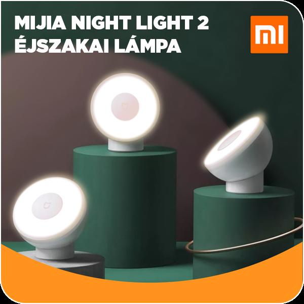 Xiaomi Mi Motion-Activated Night Light 2 éjszakai lámpa